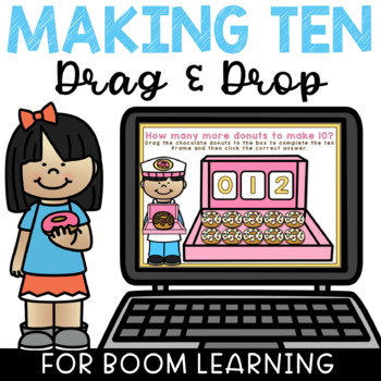 Boom Cards Math Making 10 Digital Ten Frame Activity