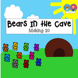 Addition to 10 Game Bears in the Cave for K-1 {PowerPoint on PDF Format}