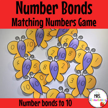 Number Bonds to 10 Matching Puzzle Game