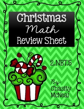 Making 10 Christmas Review Sample