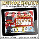 Making 10   Digital Task Cards   Boom Cards™   Distance Learning