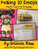 Making 10 Emojis: Math Centre Freebie