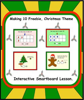 Making 10 FREEBIE, Christmas Theme