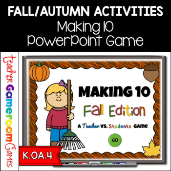 Making 10 - Fall Edition- Powerpoint Game