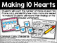 Making 10 Hearts - Addition to 10