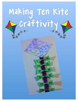 Making 10 Kite Craftivity
