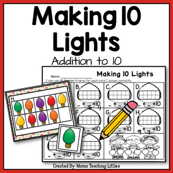 Making 10 Lights - Addition to 10