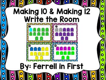 Making 10 & Making 12 Activities