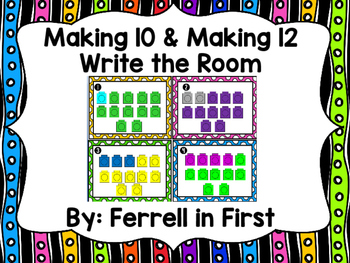 Making 10 & Making 12 Activities