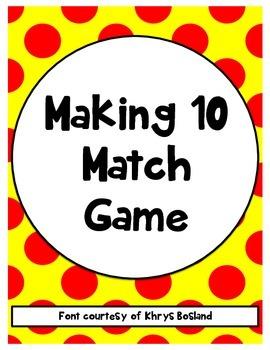 Making 10 Match Game