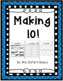 Make 10, Making 10 - Math Printables NO PREP - PRINT AND GO