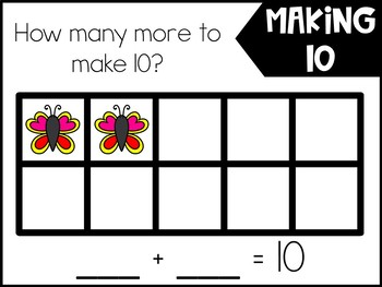Making 10 Mats (Playdoh Mat with addition and Subtraction)
