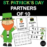 Making 10, Number Partners of 10 for St. Patrick's Day