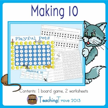Addition to 10 - Making 10