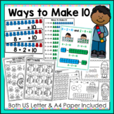 Making 10 - Ways to Make 10, Posters, Worksheets and Activities