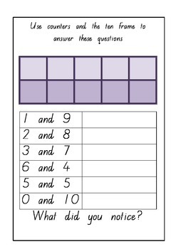 Adding By Making 10 Worksheets Groups Of Kindergarten 6 Best Images likewise Sums Of 10 Worksheet Addition Facts To Worksheets Kindergarten in addition 2 5 Times Table Worksheet Snappy Maths Tables Grade Number What Is in addition Addition Worksheets furthermore 10  grade 1 addition worksheets number bonds sums of 10 k5 learning moreover Addition Worksheets besides Addition 1 Worksheets Facts To Math Sums Vertical Simple 10 furthermore  likewise Free Single Digit Addition Worksheets besides Worksheets for basic division facts  grades 3 4 further Addition Worksheets for Kindergarten additionally Kindergarten Blank Fact Family Worksheets   Activity Shelter together with Addition and Subtraction Worksheets – The Teachers' Cafe –  mon in addition Number bonds and inverse by joop09   Teaching Resources together with Rainbow to 10 Freebie further . on number facts to 10 worksheet