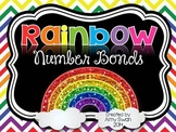 Rainbow Number Bonds - Decomposing Numbers DIFFERENTIATED Math Station - CCSS