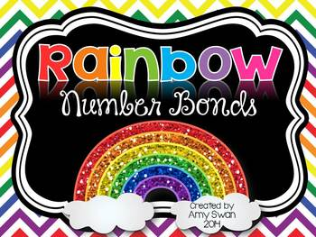 Rainbow Number Bonds - Decomposing Numbers DIFFERENTIATED