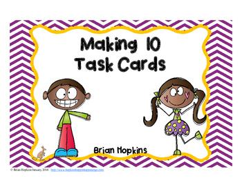 Making 10 Task Cards