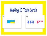Making 10 Task Cards: Writing Addition Sentences