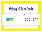 Making 10 Task Cards: Writing Addition Sentences