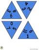 Making 10 Triangle Domino Game (color version)