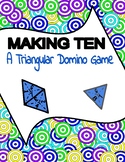 Making 10 Triangle Domino Game for Structuring and Adding to 10