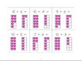 Adding to 10 - Valentine math