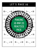 Making 10 and 20 Practice Pack