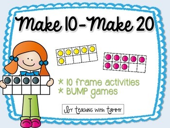 Making 10 and Making 20 {1st grade}