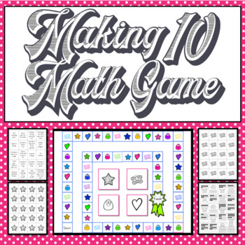Making 10 game - includes Math, Movement, and Trivia cards