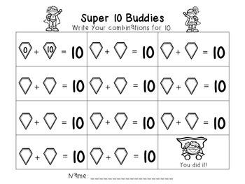 Making 10 super buddies