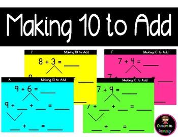 Making 10 to Add