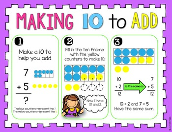 Making 10 to Add ~ Addition Facts to 20