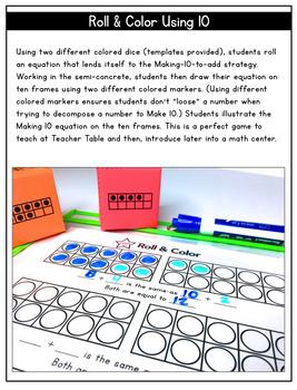 Making 10 to Add: Building Mental Math Skills