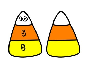 Making 10 with Candy Corn