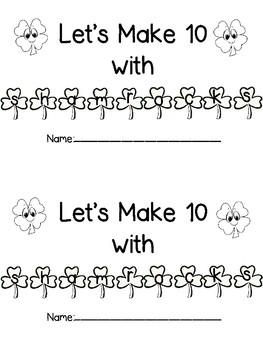 Making 10 with Shamrocks Book
