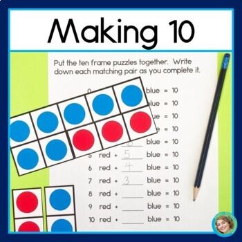 Making 10 with Ten-Frame Puzzles