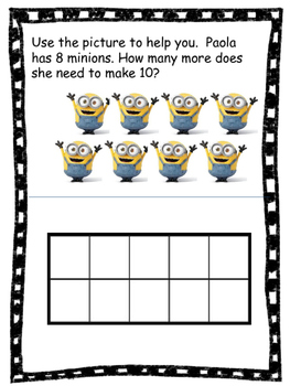 Making 10 word problems