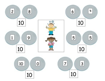 Making 10's: Bubble and Candy Math