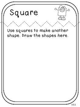 Making 2-D Shapes Book (First Grade, 1.G.2)