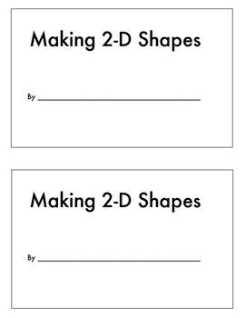 Making 2-D Shapes (Geometry)