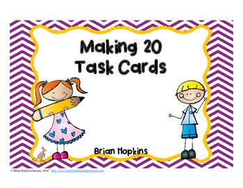Making 20 Task Cards