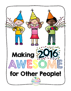 Making 2016 AWESOME for Other People: A New Year's Activity