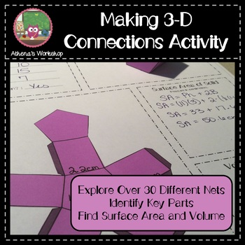 Making 3D Connections Activity - Differentiation Capable