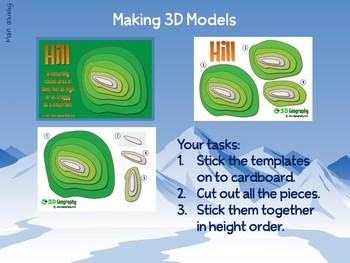 Making 3D maps (Complete lesson)