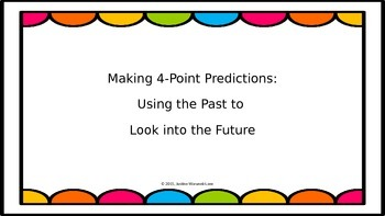 Making 4-Point Predictions (PowerPoint Version)
