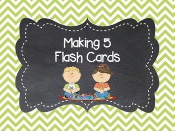 Making 5 Flashcards
