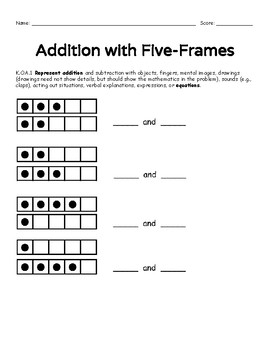 Making 5: Games, Practice, & Common Core Assessments