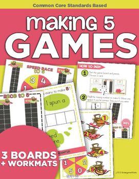 Making 5 Games